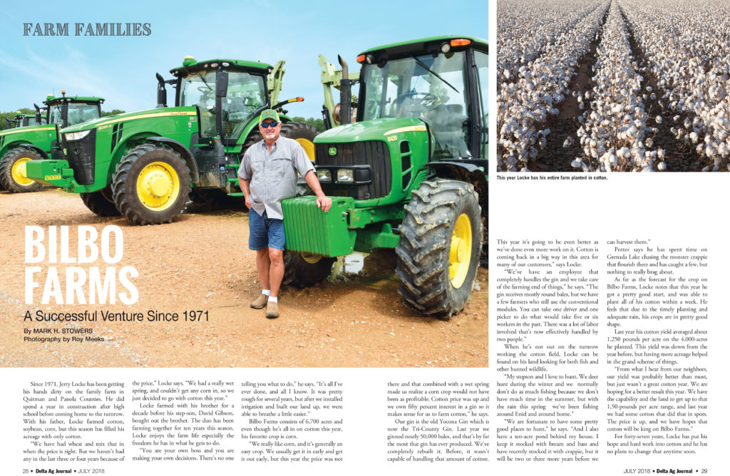 Bilbo Farms- Delta Ag Journal